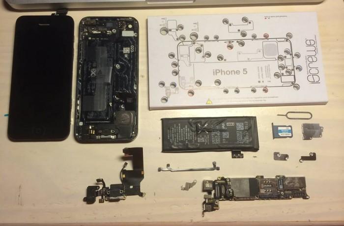 iPhone 5 qui ne charge plus…